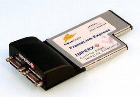Frame Grabber targets ExpressCard/54 laptops.