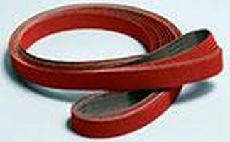Coated Abrasive Product employs ceramic grain.