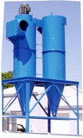 Hybrid Cyclones replace cartridge dust collectors.