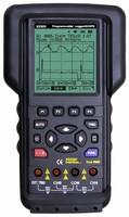 Handheld DSO/DMM integrates 17,000-point data logging.