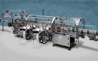 Linear Labeling System offers top speed of 450 bottles/min.