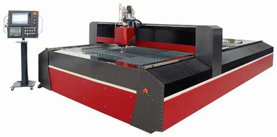 Waterjet incorporates features for precision operation.