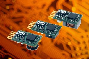 DC/DC Converters target space critical applications.