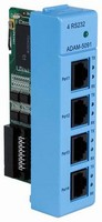 Communications Module is equipped with 4 RS-232 ports.