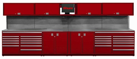 Modular Workbenches meet any tool storage requirements.