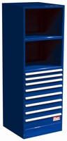 Modular Cabinets offer high-density part/tool storage.