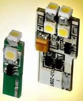 LED Boards replace incandescent wedge lamps.