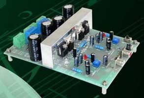 Audio Power Amp Reference Design offers scalable output.