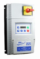 Frequency Inverter features internal disconnect switch.
