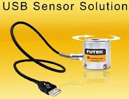 Torque Sensor features USB output with 16-bit resolution.