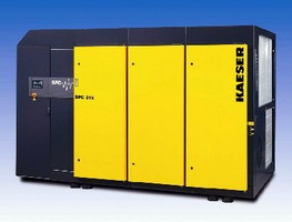 Direct Drive Compressor offers flows from 346-2,090 cfm.