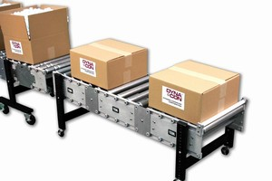 Roller Conveyors offer modular, energy-saving design.
