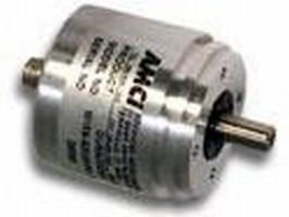Magnetic Rotary Encoder resists shock, vibration, and cold.