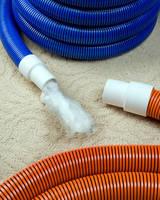 Carpet Cleaning Hose features drag-resistant construction.