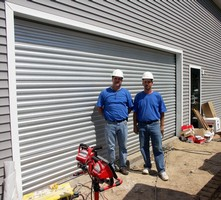 U.S. Door & Building Components Donates Model 626 Rolling Door to Extreme Makeover: Home Edition Project
