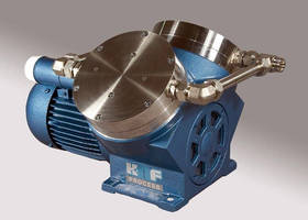 Diaphragm Process Pump is optimized for flow rate.