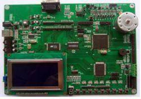 DSP Evaluation Board supports motor control development.