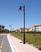 Street Lights feature hermetically sealed optical system.