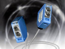 Photoelectric Sensors offer 1 kHz switched output frequency.