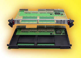 PMC Carrier Cards provide I/O expansion.