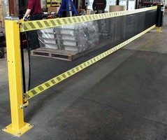 Modular Barrier improves safety inside facilities.