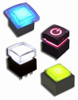 Latching Illuminated Pushbutton suits compact spaces.