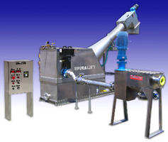 Self-Contained System processes septage from vacuum trucks.
