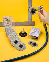 Abrasive Disc Kits offer choice of sizes and grits.
