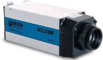 Thermal Imaging Camera suits process control applications.