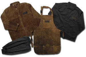 Safety Apparel protects welders from sparks, heat, UV rays.