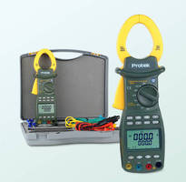 Digital Clamp Meter registers power levels up to 600 kW.