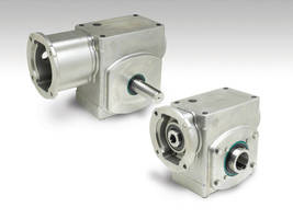 Worm Gear Reducers come in 5 sizes.