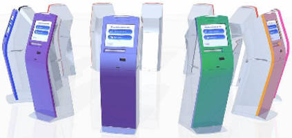 Kiosk Terminal can accommodate various applications.