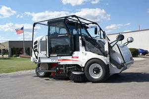Broom Sweeper is powered by alternative fuels.