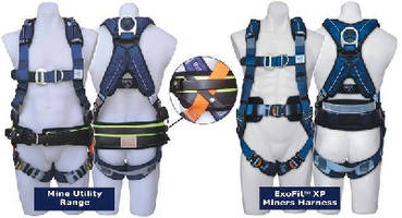 Fall Protection Harnesses suit mining industry personnel.