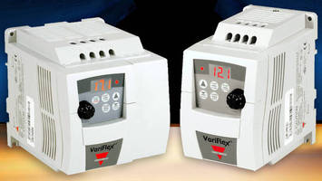 Variable Frequency Drives have compact design.