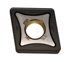 Insert Grades suit steel, SS, and cast-iron cutting applications.