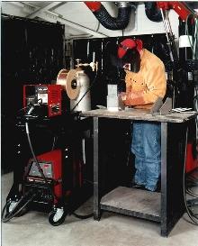 Welding Inverter provides soft or crisp MIG arc control.