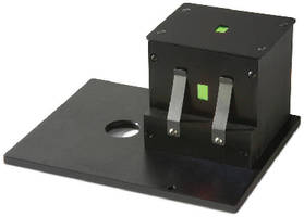 Spectrophotometer Accessory aids solid material QC testing.
