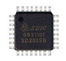 HART Modem IC features bit error rate of less than 1 ppm .