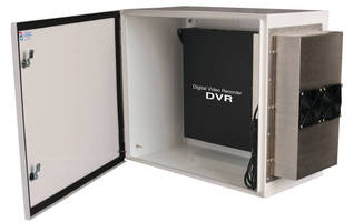 Enclosure offers indoor or outdoor protection for DVRs.