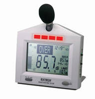 Sound Level Monitor is suited for industrial environments.