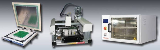 Bench-Top Systems facilitate SMT assembly, prototyping.