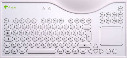 Keyboard has anitmicrobial properties.