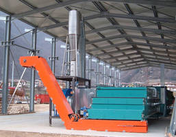 Sludge Belt Dryer facilitates biosolids management.