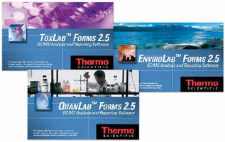 GC/MS Software Suite delivers lab-specific packages.