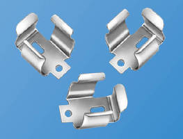 Battery Clips withstand shock and vibration.