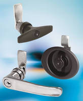 Cam Latches include L/T-handle and flush wing knob designs.