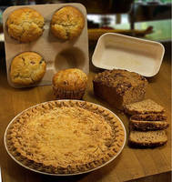 Compostable Bakeware helps bakeries go green.