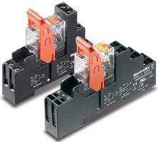 Industrial Relays suit OEM and process control industries.